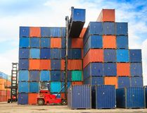 The container box Stock Photography