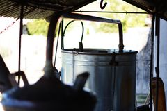 Container for brandy Stock Images