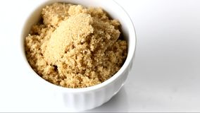 A container of brown sugar stock video footage