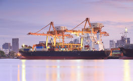 Container Cargo freight ship Royalty Free Stock Photo
