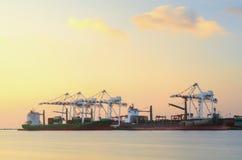 Container Cargo Royalty Free Stock Photos