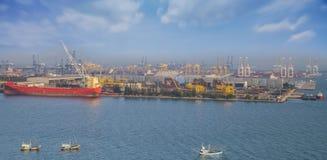 Container Cargo freight ship Stock Photo