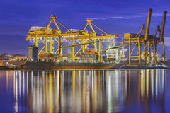 Container Cargo freight ship Royalty Free Stock Image