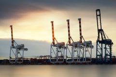 Container Cargo freight ship Royalty Free Stock Images
