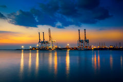 Container Cargo Royalty Free Stock Images