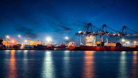 Container Cargo Stock Photography