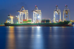 Container Cargo Stock Photo