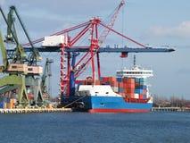 Container Cargo Ship Royalty Free Stock Photos