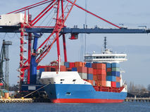 Container Cargo Ship Stock Photos