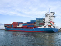 Container Cargo Ship Stock Photography