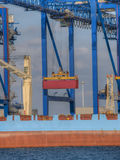 Container Cargo Ship Stock Image