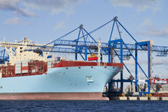 Container Cargo Ship Stock Images