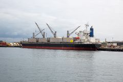 Container cargo ship Royalty Free Stock Photography