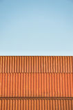 Container And Clear Sky Royalty Free Stock Photo