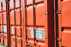 Container close-up Stock Photos