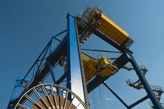 Container crane Stock Photography