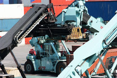 Container Crane Stock Photos