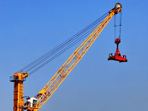 Container crane Royalty Free Stock Photos