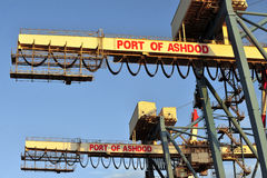Container crane royalty free stock images