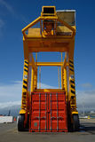 Container crane Stock Images