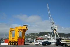 Container crane Stock Image