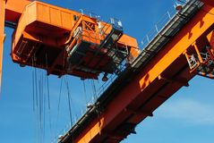 Container craneI Royalty Free Stock Images
