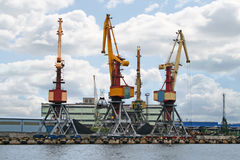 Container cranes 04 Royalty Free Stock Photo