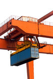 Container Cranes Stock Image