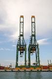 Container Cranes Stock Photos