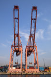 Container Cranes Royalty Free Stock Image