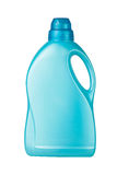 Container detergent blue Stock Photo
