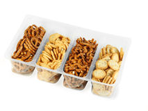 Container with different cookie Stock Images