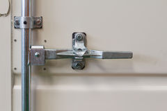 Container door latch Royalty Free Stock Image