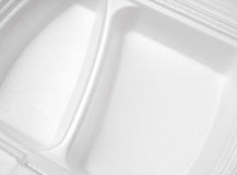 Container for fast food Royalty Free Stock Photography