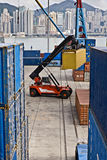 Container Handling, Hong Kong Stock Images