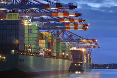Container Harbor Royalty Free Stock Photography