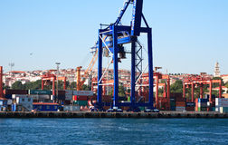 Container Harbour Royalty Free Stock Photography