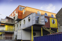 Container House Royalty Free Stock Images