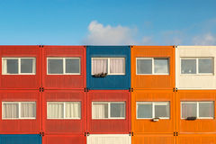 Container houses Royalty Free Stock Photo