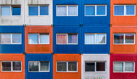 Container houses Stock Images