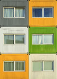 Container housing Royalty Free Stock Image