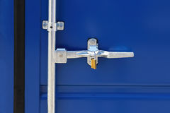 Container Latch Stock Photo