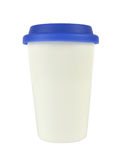 Container with a Lid on White Royalty Free Stock Photography