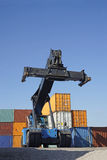Container lifter Royalty Free Stock Photos