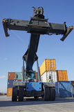 Container lifter Royalty Free Stock Image