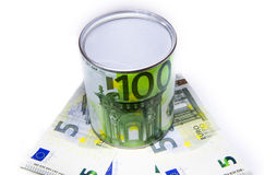 Container for money Stock Images