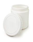 Container open white Royalty Free Stock Photos