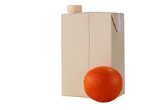 Container for orange juice Royalty Free Stock Photography