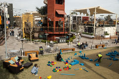 Container Park on Fremont Street Stock Photography