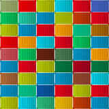 Container pattern Royalty Free Stock Images